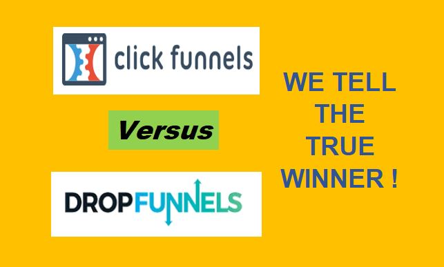 DropFunnels Vs ClickFunnels Review 2020: Which Is Better For You?