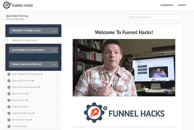 funnel hacks masterclass