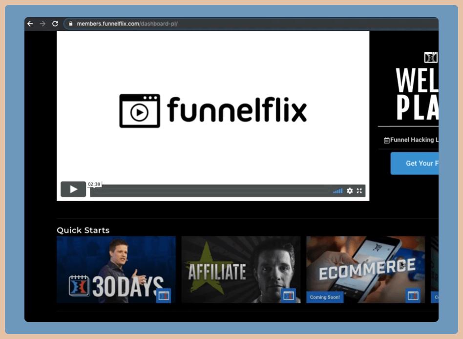 ClickFunnels Platinum Funnel Flix