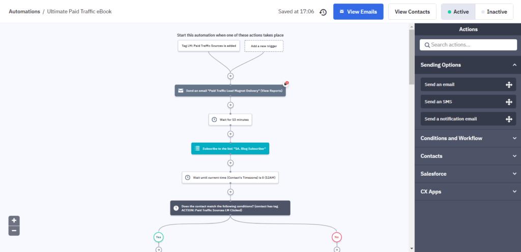 ActiveCampaign Automation best email autoresponder
